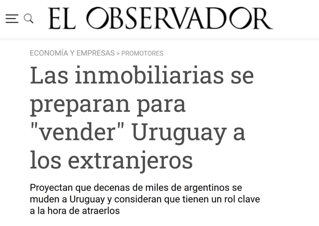 no de el observador uruguay