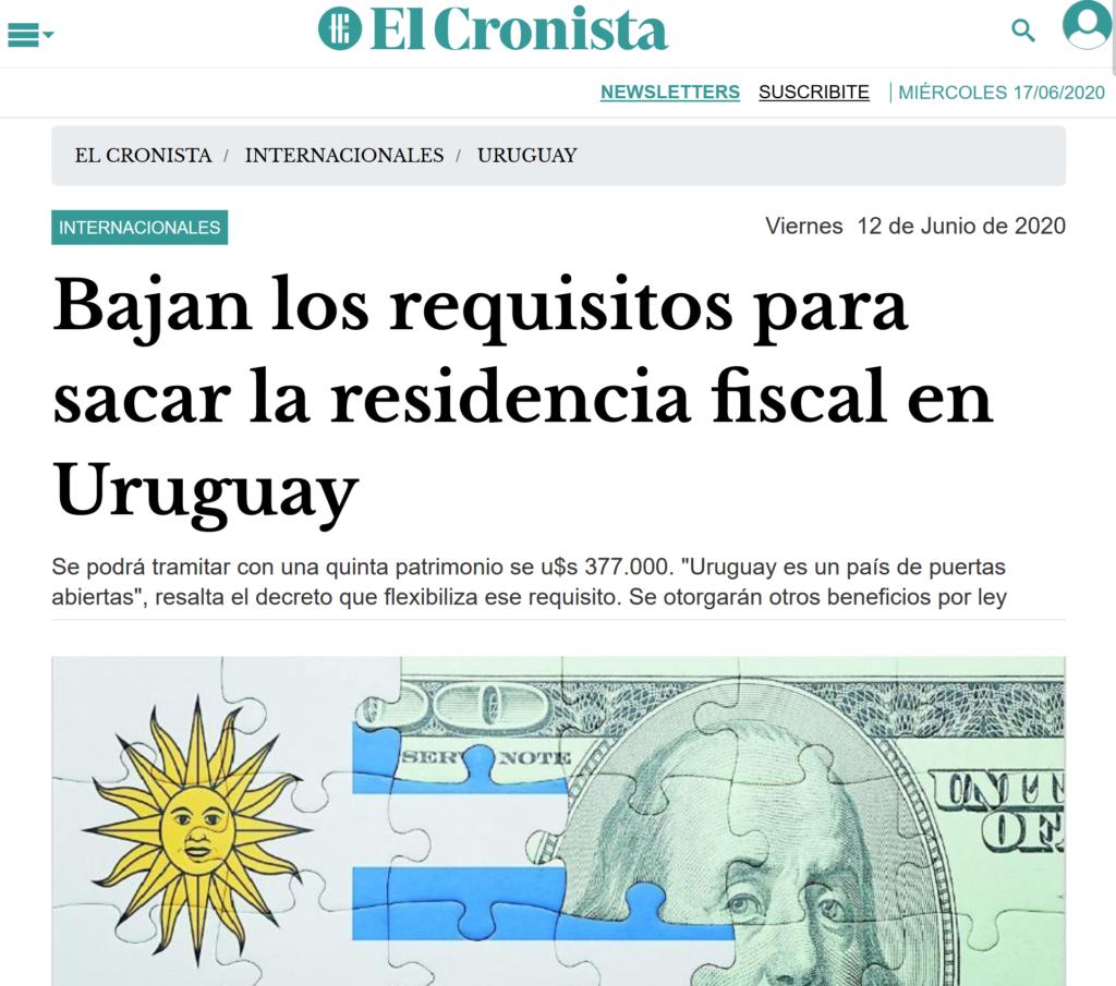 nota El Cronista Argentina