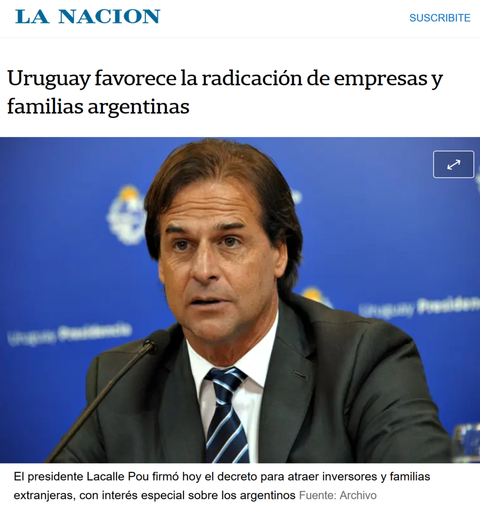screen nota La Nacion