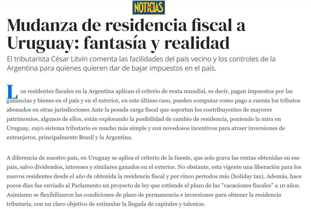 Nota de Noticias Argentina 7/7/2020